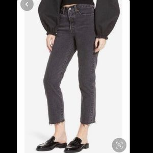 Levi's Wedgie Straight Fit size 30